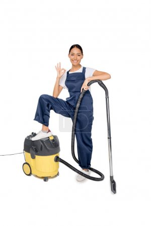 Asian cleaner with vacuum cleaner