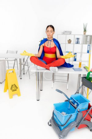 asian superhero cleaner