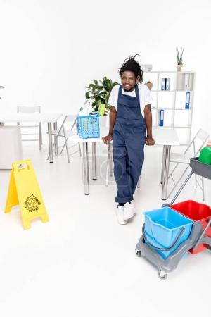african american cleaner