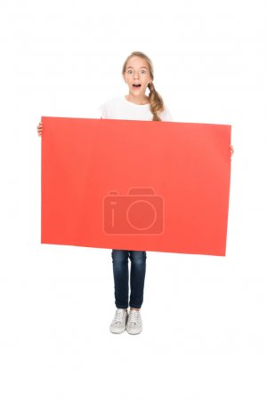 teenager with empty board