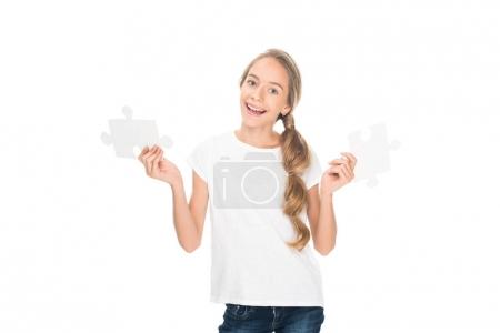 teenager with puzzle pieces