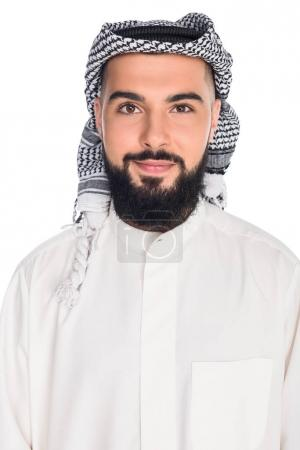 young muslim man