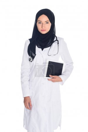 Young muslim female doctor