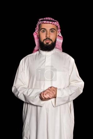man in traditional muslim clothing