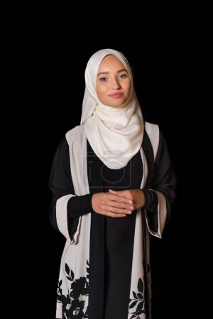 muslim woman in traditional clothing