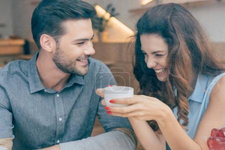 couple on romantic date