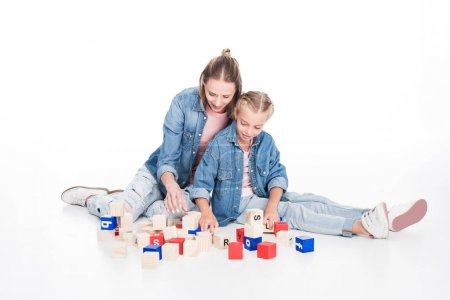 aphabet cubes