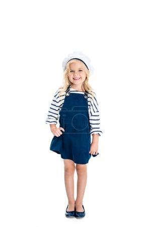 child in sailor costume