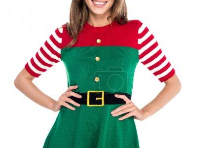 woman in elf costume