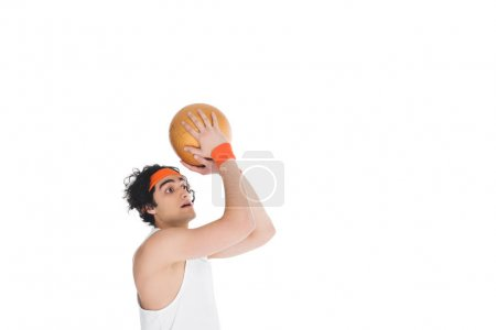 skinny basketball player