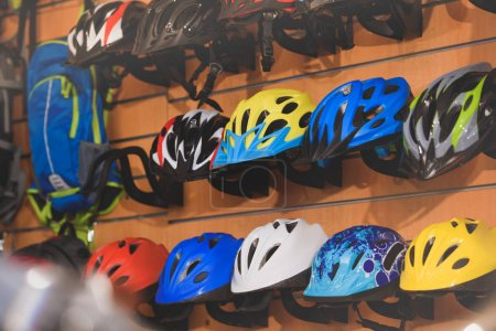 colorful helmets