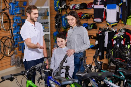 buying bicycle