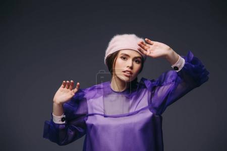 Fashionable purple
