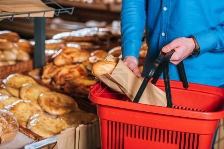 buying bread