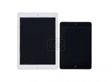 Digital tablets with black screens