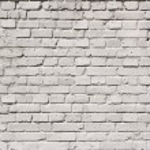 Full frame of white grunge textured brick wall bac...