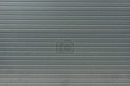 Photo for Grey striped metal bling wall textured background - Royalty Free Image