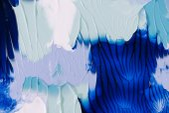 """Постер, картина, фотообои """"крупным планом зрения абстрактной живописи синий, серый и белый фон"""""""
