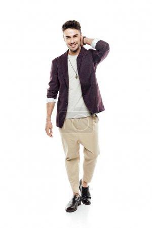 young stylish man