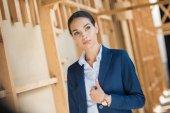 Attractive confident businesswoman