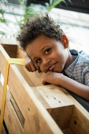 adorable african american child