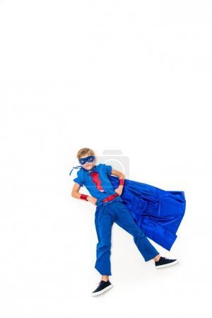 flying superhero boy