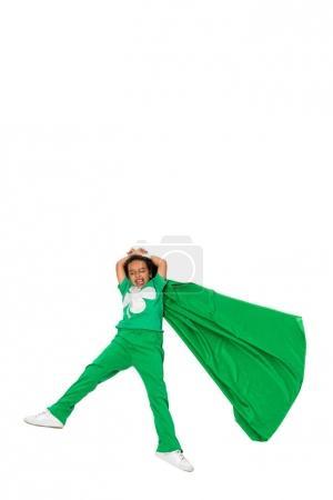 flying beautiful superhero girl