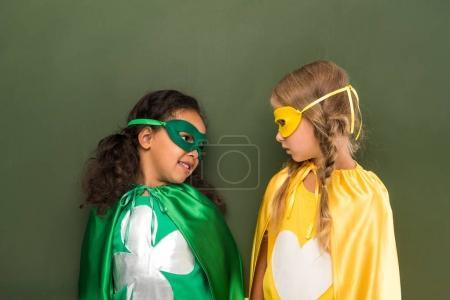 beautiful girls in superhero costumes