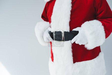 santa claus with belt