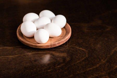 Raw chicken eggs