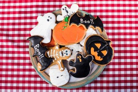 Various halloween cookies