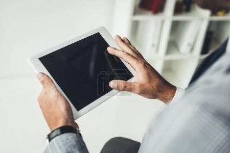 Using tablet