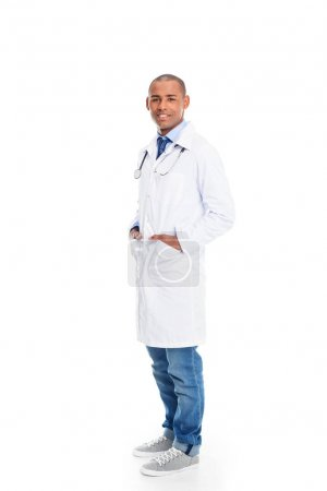 african american male doctor