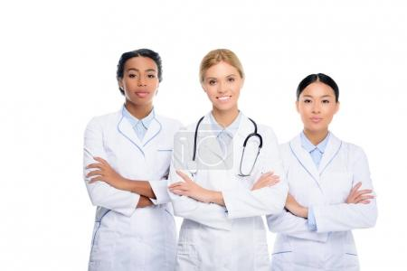 doctors with crossed arms
