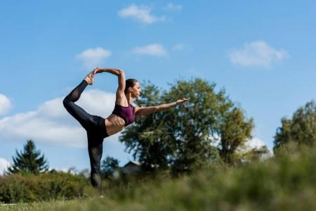 woman in lord of dance pose
