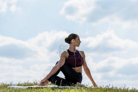 woman doing twist