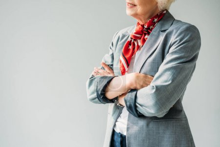 lady with crossed arms