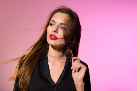 stylish beautiful girl
