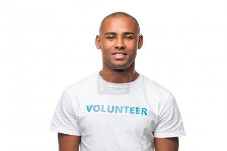 african american volunteer