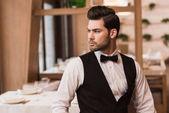 Handsome waiter