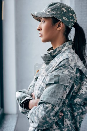 soldier in military uniform