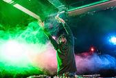 club DJ in nightclub