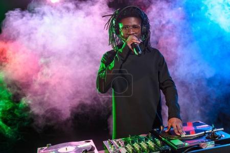 club DJ on concert