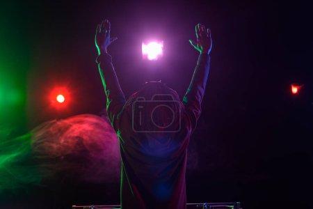 Photo pour Club africain-américain professionnel Dj concert en boîte de nuit - image libre de droit