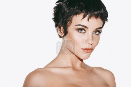 Preciosa mujer desnuda