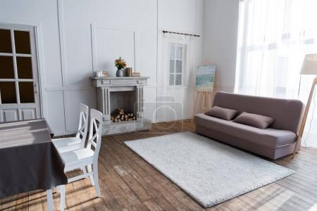 Photo for Cozy room interior with stylish furniture - Royalty Free Image