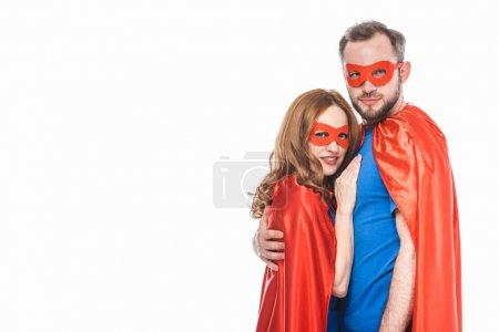 Superheroes couple