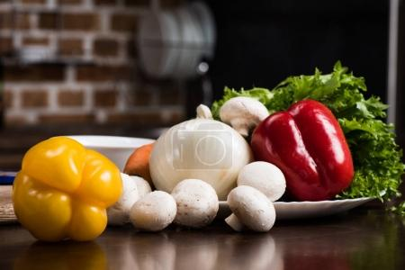 ingredients for cooking dinner