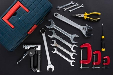 toolbox and reparement tools