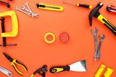 reparement tools and tape